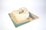 Pentagon housing complex: model