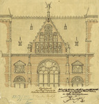 Rijksmuseum: detail drawing facade