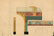 Rijksmuseum: design for a wall-painting