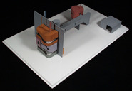 Byehouse / Wallhouse #2: maquette