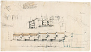 Housing complex 'De Dageraad': design sketch III