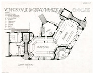 Housing complex 'De Dageraad': floor plan ground floor