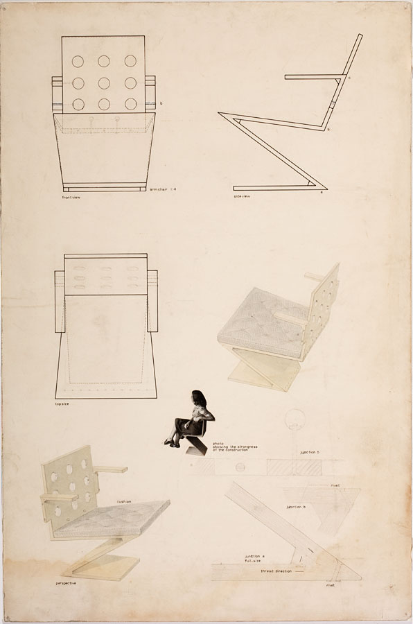 Design variants for the Zigzag and Folding Chair - Treasures