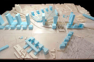 Euralille Urban Masterplan: model