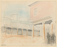 Travel sketches of Arthur Staal's Prix de Rome journey IV