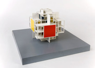 Van Woerkom Studio House: model