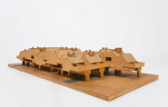 Model of Kasbah housing complex