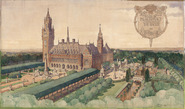 Peace Palace. Garden design Th. M. Mawson
